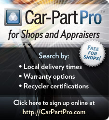 Car-Part Pro for Shops and Appraisers